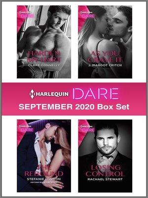 cover image of Harlequin Dare September 2020 Box Set