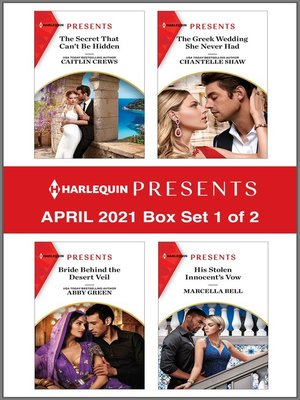 cover image of Harlequin Presents--April 2021--Box Set 1 of 2