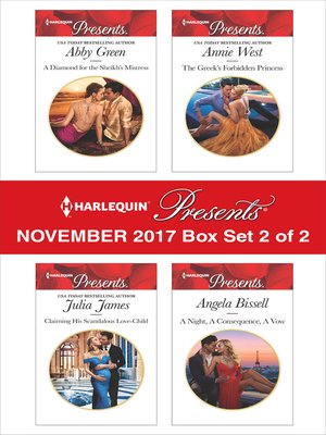 cover image of Harlequin Presents November 2017--Box Set 2 of 2