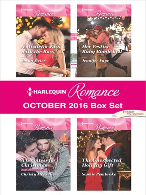 cover image of Harlequin Romance October 2016 Box Set