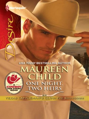 cover image of One Night, Two Heirs