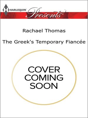 cover image of The Greek's Temporary Fiancée