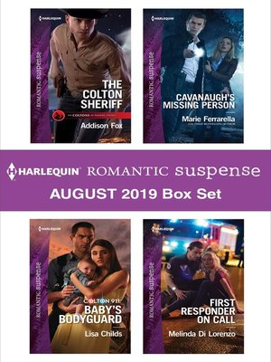 cover image of Harlequin Romantic Suspense August 2019 Box Set