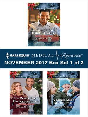 cover image of Harlequin Medical Romance November 2017--Box Set 1 of 2