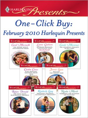 cover image of One-Click Buy: February 2010 Harlequin Presents