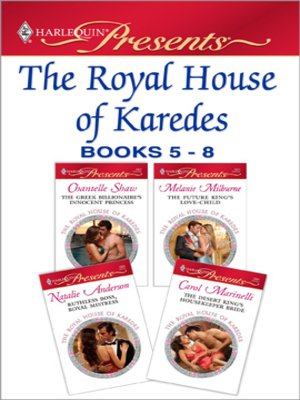 cover image of The Royal House of Karedes books 5-8