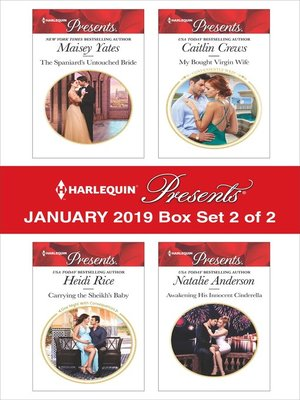 cover image of Harlequin Presents January 2019: Box Set 2 of 2