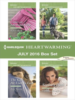 cover image of Harlequin Heartwarming July 2016 Box Set