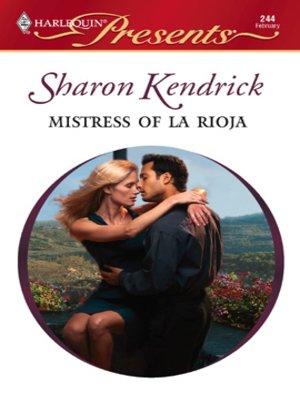 cover image of Mistress of La Rioja