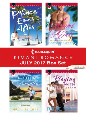 cover image of Harlequin Kimani Romance July 2017 Box Set
