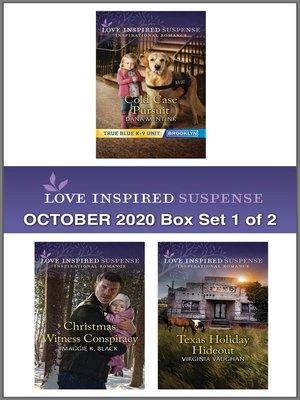 cover image of Harlequin Love Inspired Suspense October 2020--Box Set 1 of 2