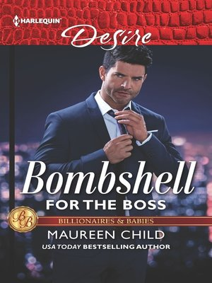 cover image of Bombshell for the Boss