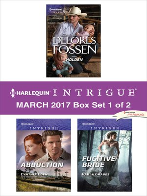 cover image of Harlequin Intrigue March 2017, Box Set 1 of 2