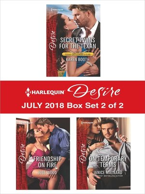 cover image of Harlequin Desire July 2018--Box Set 2 of 2