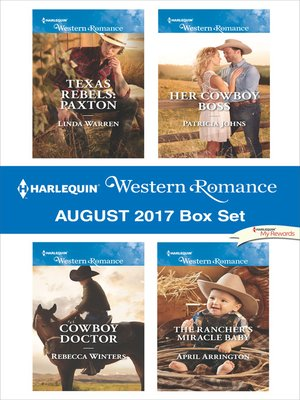 cover image of Harlequin Western Romance August 2017 Box Set