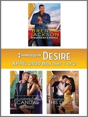 cover image of Harlequin Desire April 2020--Box Set 1 of 2