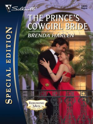 cover image of The Prince's Cowgirl Bride
