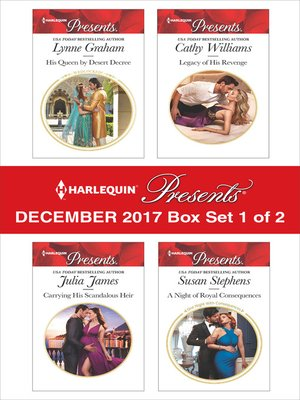 cover image of Harlequin Presents December 2017--Box Set 1 of 2