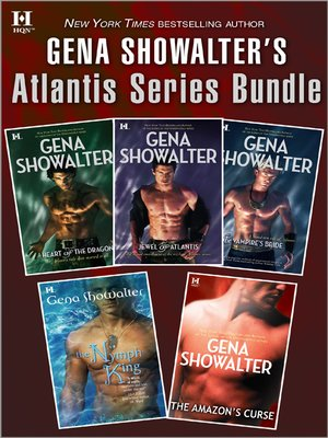 cover image of Gena Showalter's Atlantis Series Bundle