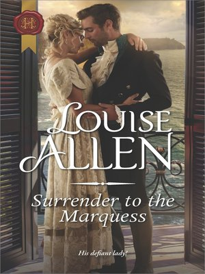 cover image of Surrender to the Marquess