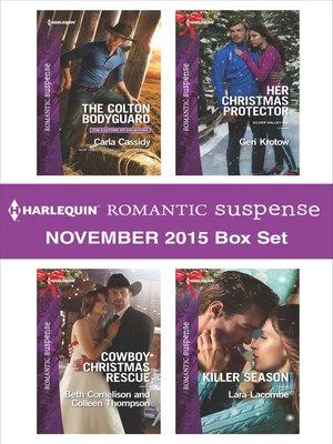 cover image of Harlequin Romantic Suspense November 2015 Box Set