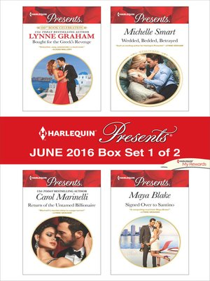 cover image of Harlequin Presents June 2016, Box Set 1 of 2