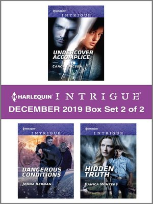 cover image of Harlequin Intrigue December 2019--Box Set 2 of 2