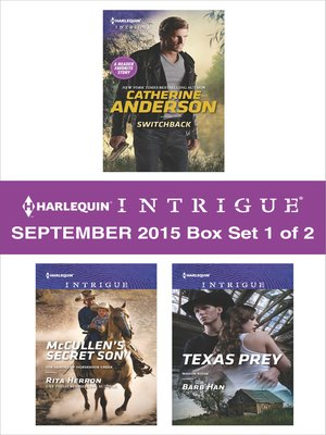cover image of Harlequin Intrigue September 2015--Box Set 1 of 2