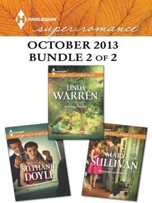cover image of Harlequin Superromance October 2013 - Bundle 2 of 2: A Texas Family\For the First Time\Because of Audrey