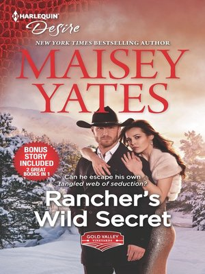 cover image of Rancher's Wild Secret ; Hold Me, Cowboy
