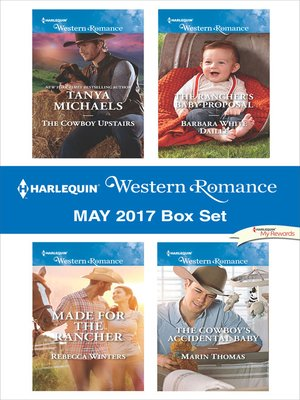 cover image of Harlequin Western Romance May 2017 Box Set