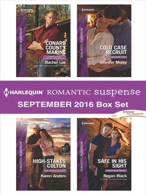 cover image of Harlequin Romantic Suspense September 2016 Box Set