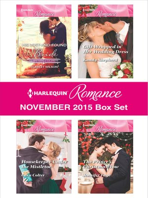 cover image of Harlequin Romance November 2015 Box Set