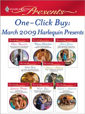 cover image of One-Click Buy: March 2009 Harlequin Presents