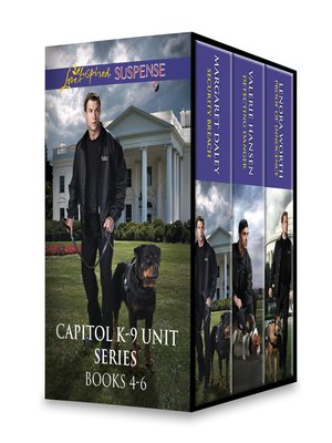 cover image of Capitol K-9 Unit Series, Books 4-6