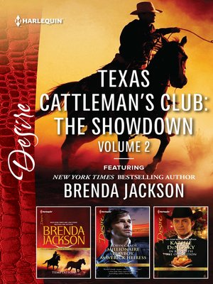 cover image of Texas Cattleman's Club, The Showdown, Volume 2