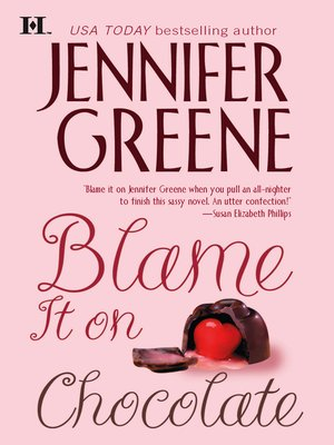 cover image of Blame It on Chocolate
