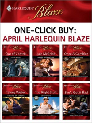 cover image of OneClick Buy: April 2009 Harlequin Blaze