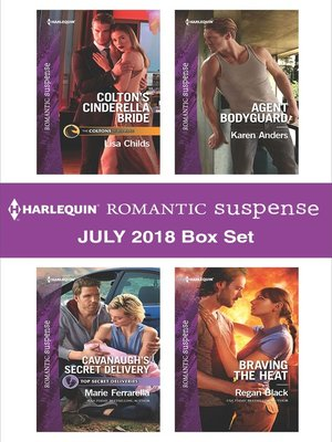 cover image of Harlequin Romantic Suspense July 2018 Box Set