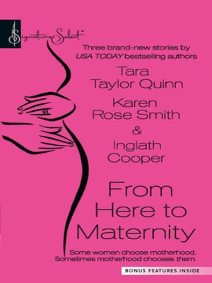 cover image of From Here To Maternity: A Second Chance\Promoted to Mom\On Angel's Wings