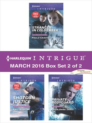 cover image of Harlequin Intrigue March 2016, Box Set 2 of 2