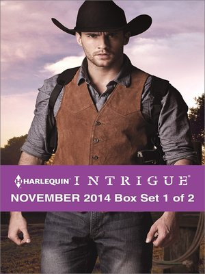 cover image of Harlequin Intrigue November 2014 - Box Set 1 of 2: Rustling Up Trouble\Boneyard Ridge\Cold Case at Cobra Creek