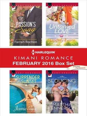 cover image of Harlequin Kimani Romance February 2016 Box Set