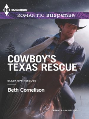 cover image of Cowboy's Texas Rescue