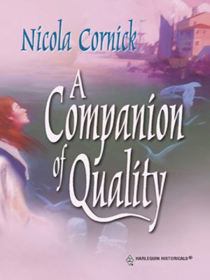 cover image of A Companion of Quality