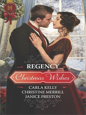 cover image of Regency Christmas Wishes
