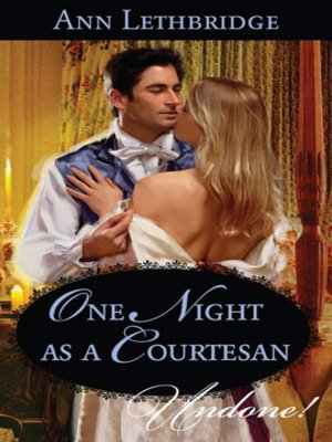 cover image of One Night as a Courtesan