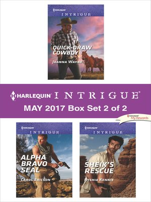 cover image of Harlequin Intrigue May 2017, Box Set 2 of 2