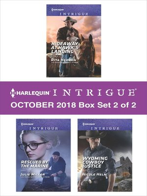 cover image of Harlequin Intrigue October 2018--Box Set 2 of 2