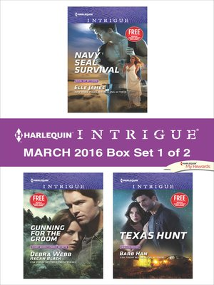 cover image of Harlequin Intrigue March 2016, Box Set 1 of 2